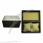 Watch Box, Made of PU/Suede Materials