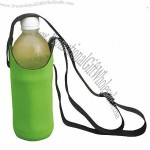 Water Bottle Cooler with Lanyard