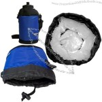 Water Bottle Cooler with Strap