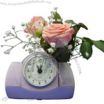 Water Powered Clock with Flower Holder(1)