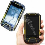 Water-resistant Android Mobile Phone, IP67 Rugged Dual-SIM