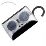 Water Resistant Radio With LCD Clock