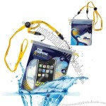 Waterproof pouch protects mobile phones, cameras, MP3 players, watches, passports, wallets and more