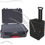 Waterproof Professional Plastic Equipment Tool Case with Trolley