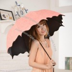 Wavy Edge 3 Fold Umbrella