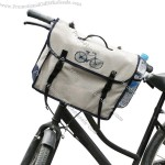 Waxed Cotton Bicycle Bag