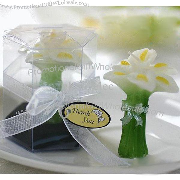 Wedding Favor Candle Calla Lily Wedding Bouquet Candles Discount 1033387767
