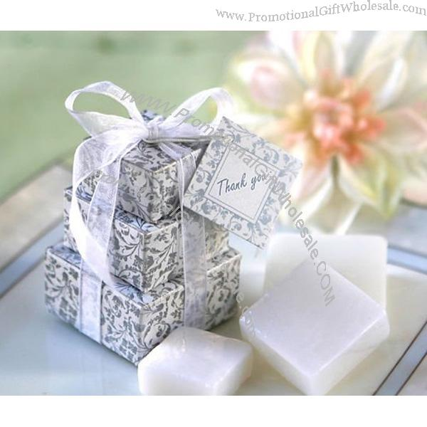 Promotional Wedding Favor Stacked Gift Box Soap Favor Gift 1036654828