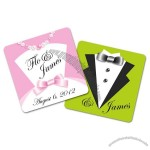 Wedding Paperboard Square Coaster - 3.75x3.75