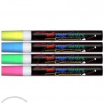 Wet Erase Marker Set - Yellow/ Blue/ Green/ Pink (4 Pack)
