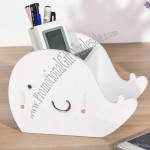 Whale Desk Stationery Organizer Phone Stand Holder