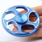 Wheel Shape Aluminium Alloy Finger Gyro Hand Spinner