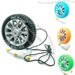 Wheel Tire Shape Desktop Fan