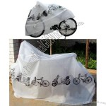White Bicycle Cover for Bike Protection
