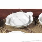 White China Shirred Egg Dish