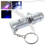 White LED Lighting and Currency Counterfeit Detect Function (Silver)