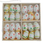 White Wooden Easter Egg Tree Decorations