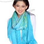 Wholesale 100% Polyester Yarn Scarf