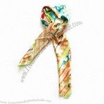 Wholesale Emulational Silk Printed Scarf