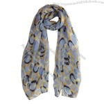 Wholesale Fashion 100% Polyester Scarf