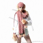 Wholesale Knitted Winter Hat and scarf