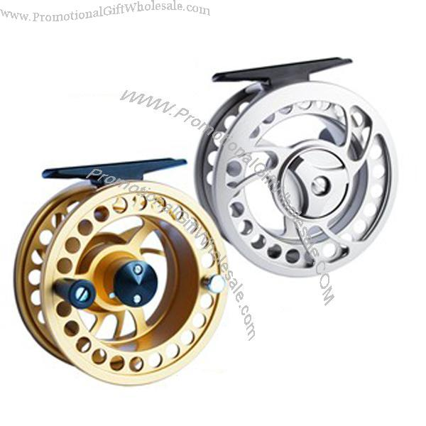 Wholesale machine cut fly fishing reel printing logo for Wholesale fishing reels