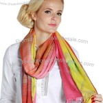 Wholesale Polyester Yarn Dyed Scarf