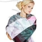 Wholesale Polyester Yarn-dyed Scarf
