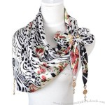 Wholesale Printed Triangle Scarf