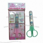Wholesale Safety Student's Plastic Handle Scissors