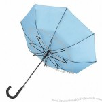 Windproof Umbrella - With a Crook Handle