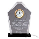 Windsor Trophy Glass Clock