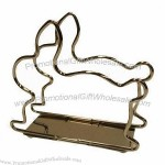 Wire Napkin Holder in Rabbit Design