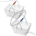 Wire Shopping Basket(1)