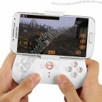 Wireless Bluetooth V3.0 Game Controller & Grip for iPhone/iPad, Compatible with Android/iOS