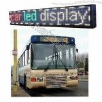 Wireless Bus LED Moving Signs
