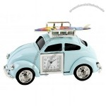 WM Widdop Miniature Classic Beetle Car Clock