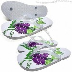 Women's Beach Sandals with rubber/PVC strap