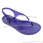 Women's Casual Sandals for Beach Fun, with Flexible/Waterproof Outsole