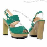 Women's Handmade Sandals with PU/Leather Upper