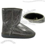 Women's Snow Boots with Elegant Appearance and Sheepskin Wool Insole