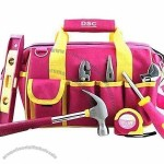 Women's Tool/Carry Tote Bag with 12 Pockets to Organize Tools and Accessories