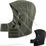 Women's waterproof breathable hood.