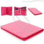 Womens Lady New bi fold Faux Leather Wallet