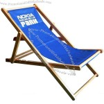 Wood beach chair 3-position