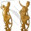 Wood Carving of Fairy