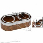 Wood Colored 8-Style Bottle Drink Can Holder for Car