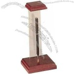 Wood Desk Accessories Floating Pen Stand