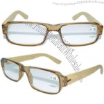 Wood EyeGlasses - PC Frame with Wooden temples