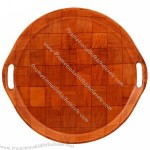 Wood Plates for Fruit